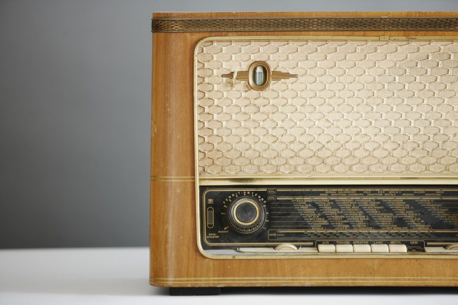 radio, old, retro